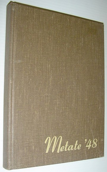 Image for 1948 Metate: Student Yearbook of Pomona College, Claremont, California
