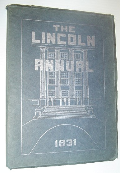 Image for The Lincoln Annual 1931: Abraham Lincoln Junior High School, Rockford Illinois