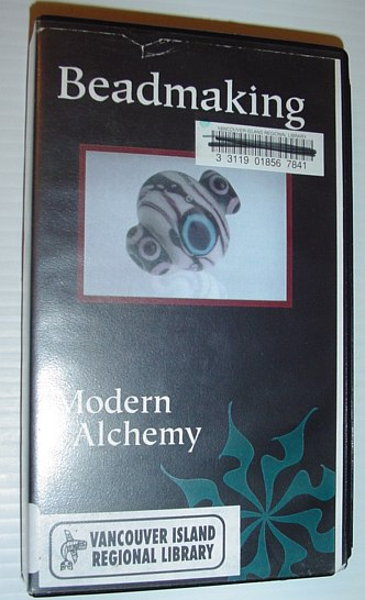 Image for Beadmaking - Modern Alchemy: 60 Minute VHS Videotape in Case