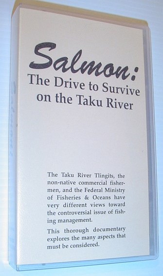Image for Salmon: The Drive to Survive on the Taku River - 26 Minute VHS Video Tape in Case