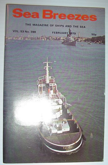 Image for Sea Breezes - The Magazine of Ships and the Sea: February 1979