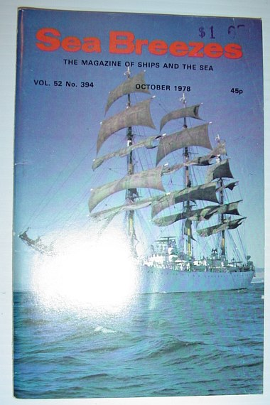 Image for Sea Breezes - The Magazine of Ships and the Sea: October 1978