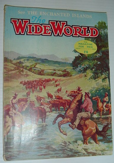 The Wide World Magazine, July 1954, Multiple Contributors