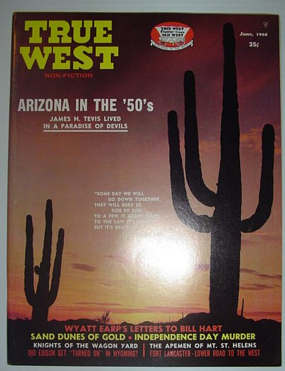 True West Magazine, June 1968