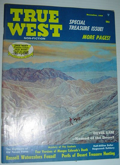 True West Magazine, December 1969 *SPECIAL TREASURE ISSUE*