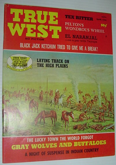 True West Magazine, April 1972, Multiple Contributors