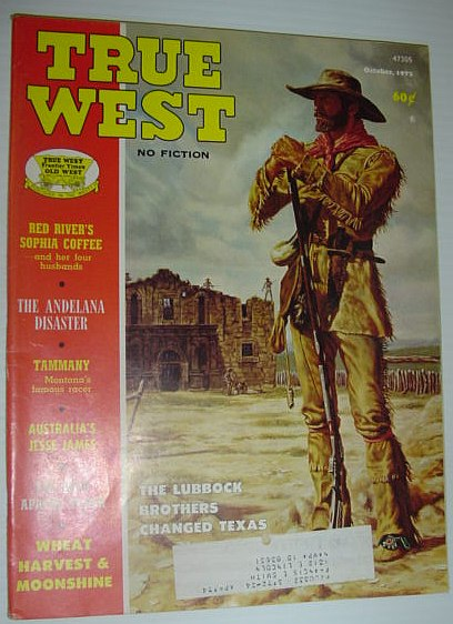 True West Magazine, October 1973, Multiple Contributors