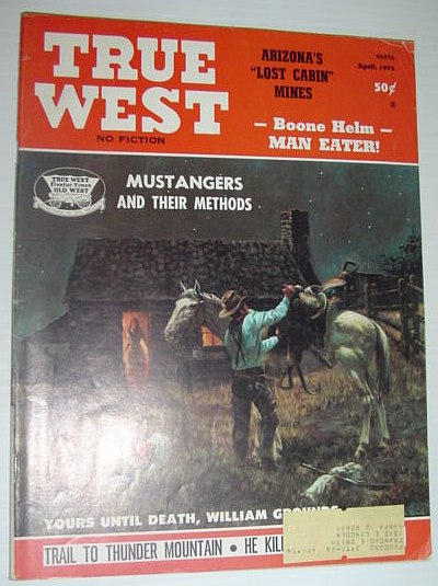 True West Magazine, April, 1973, Multiple Contributors