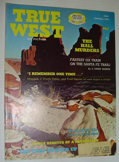 True West Magazine, February, 1973, Multiple Contributors