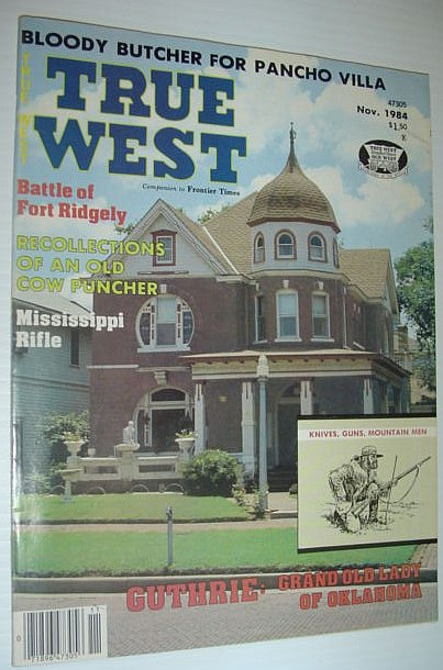 True West Magazine, November 1984, Multiple Contributors