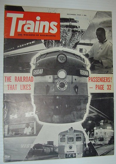 Trains - The Magazine of Railroading: December, 1959, Multiple Contributors