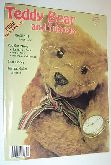 Teddy Bear and Friends, August 1987, Author Not Stated