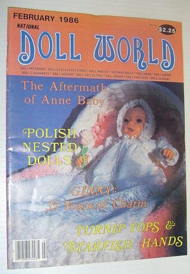 Image for National Doll World, February 1986 *POLISH NESTED DOLLS*
