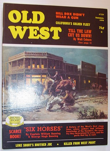 Image for Old West Magazine: Summer, 1976